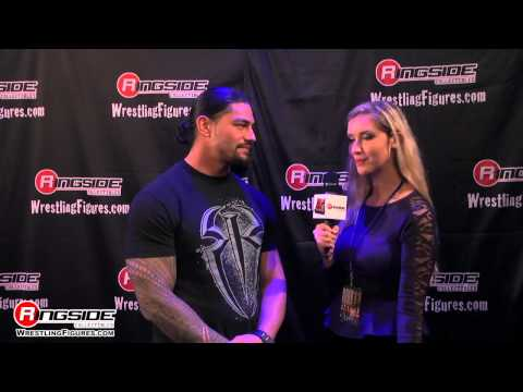 ROMAN REIGNS INTERVIEW AT RING SIDE FEAST