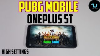 OnePlus 5T PUBG Mobile Gameplay/Adreno 540/Snapdragon 835 High settings/Android 8 Oreo