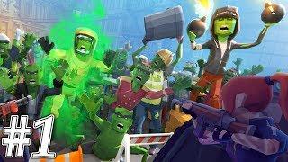 Zombie Blast Crew - Gameplay Walkthrough Part 1 - Kill Zombies ( ios, Android )