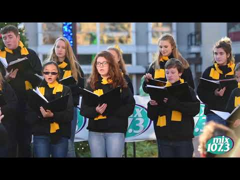 Winner of the 1st annual mix107.3 Holiday Choir Competition, Richard Montgomery High School! Part 1