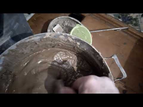 Замазка печи своими руками подручными средствами