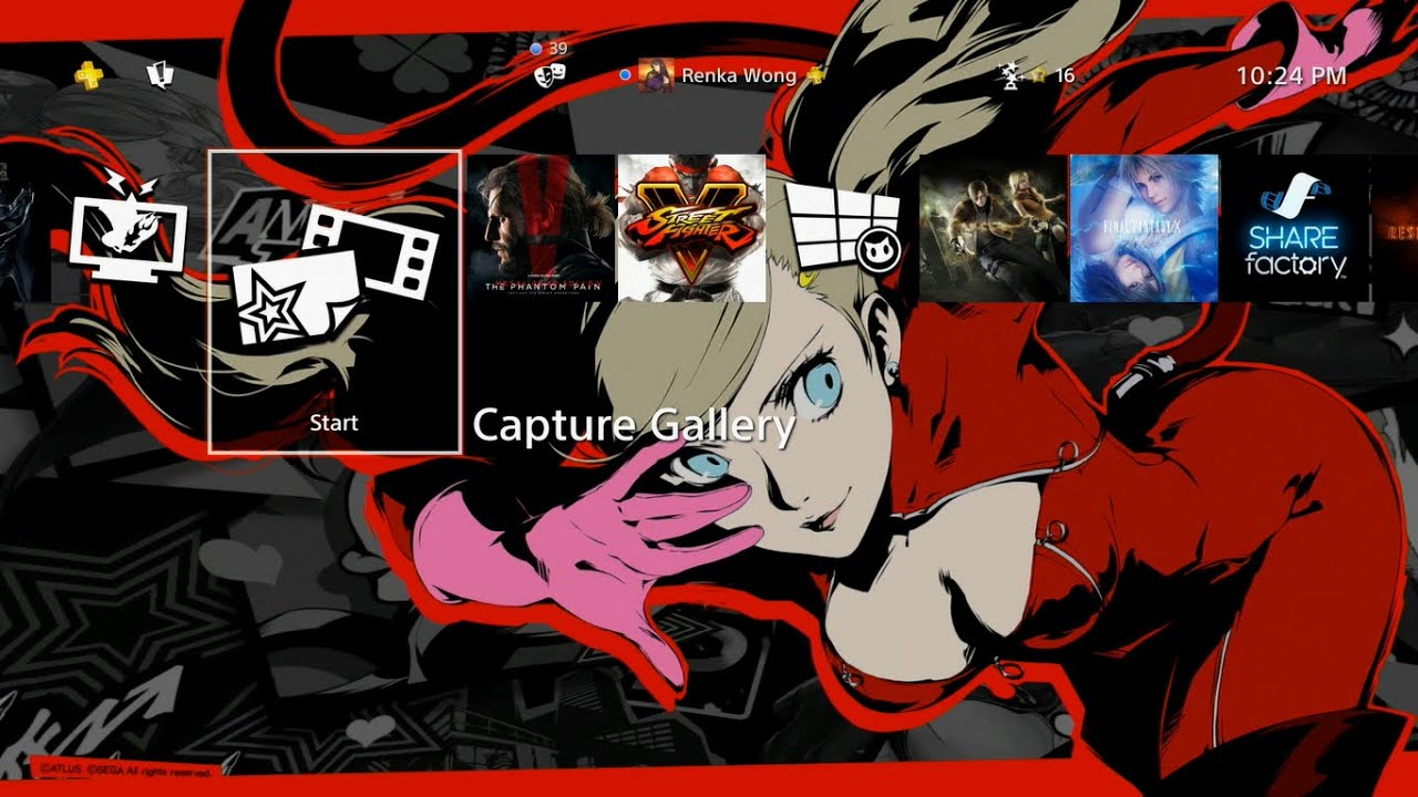 Persona 5 Anne Takamaki Special Theme Ps4 Youtube