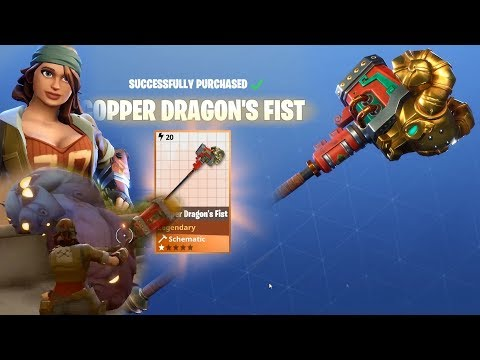 Fortnite | Dragon's Fist Hardware Melee Weapon | Spring It On Event