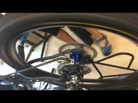 Hadley SDH Free Hub Spinning ~ MXT33 & Sapim MTB Wheel Build on Gary Fisher Big Sur