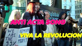 """Viva la Revolución"" ANTI ACTA SONG von MaximNoise"