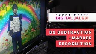 BG subtraction + Marker recognition