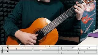 Английская мелодия -  Зелёные рукава (Простая и красивая)