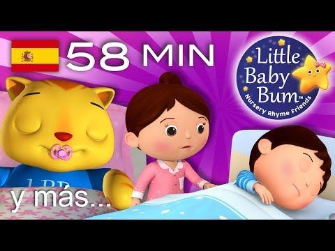 Canciones para dormir   Parte 2   Y muchas más canciones infantiles   ¡58 min de LittleBabyBum!