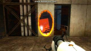 Portal: How to defeat GLaDOS using a turret NO CHEATS!