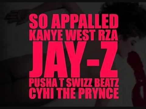 Kanye West feat. RZA, Jay-Z, Pusha T, Swizz Beatz & Cyhi the Prynce- So Appaulled Slowed Down