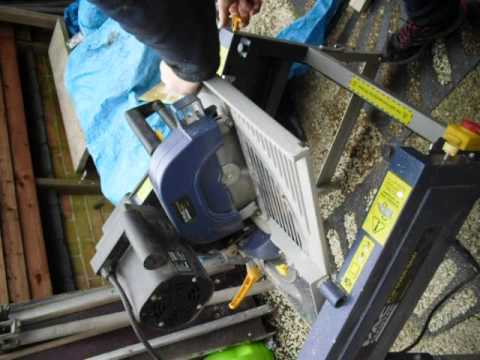 Mac Allister Mitre Table Saw Flip Opeartion