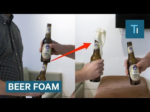 Why Beer Foams When You Tap The Bottle