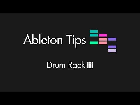 Ableton Tips - Drum Rack Tutorial en Español