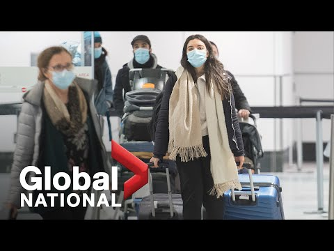 Global National: Dec. 30, 2020   Canada mandates negative COVID-19 test to enter country by air
