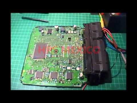 hps mexico reparacion computadora ecu nissan - YouTube