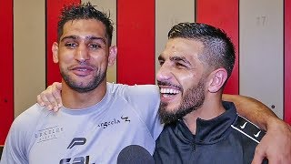 Amir Khan vs. Billy Dib POST FIGHT REACTION!