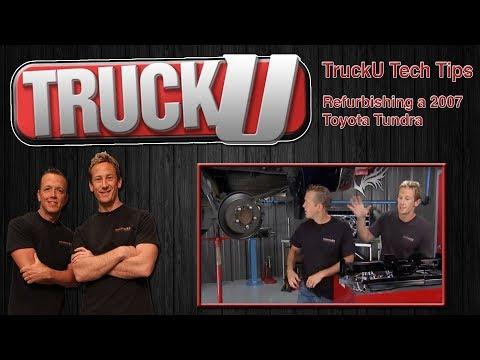 Refurbishing a 2007 Toyota Tundra   TruckU Tech Tips
