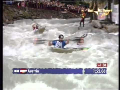 2008    VIZEWELTMEISTER Wildwasser Regatta Sprint in IVREA ITA TEAM ÖSTERREICH mit Schmid Gerhard, Manuel Filzwieser & Harald Hudetz