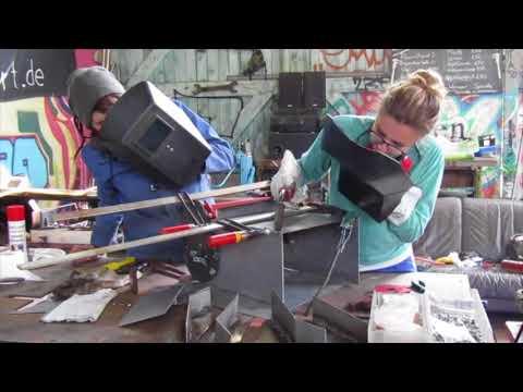 Pedal Powered Shredder