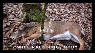 BIG WIDE BUCK, HUGE BODY! Wisconsin Gun Hunt - The Conductor Part II | S3E24