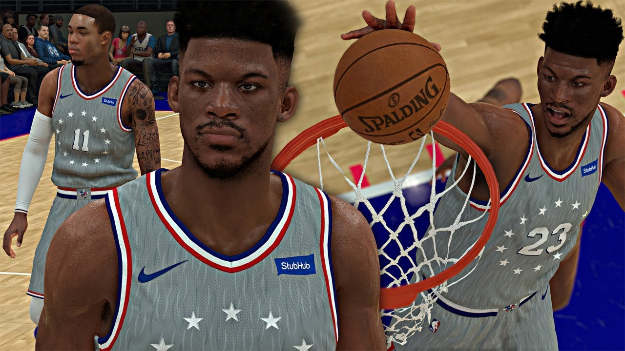 reputable site fbde8 4800e NBA 2K19 MyCAREER - Jimmy Butler 76ERS Debut! ELI RETURNS TO THE 76ERS!