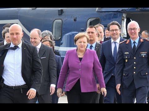 ILA 2018 | Bundeskanzlerin Merkel | Rundgang Eröffnung ILA Berlin Air Show 2018