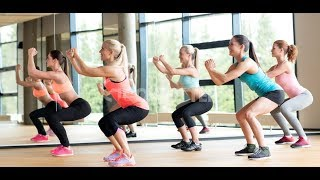 Aerobics workout exercise | aerobics class for beginner | cardio workout | 2018