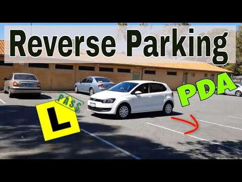 How to Reverse Park - Perth PDA - The 3 Line Guide - Reverse Parking Tutorial - Driving School WA