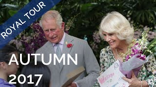 Highlights from The Prince of Wales and The Duchess of Cornwall's Autumn Tour 2017