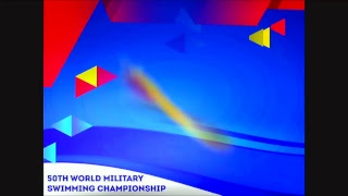 50TH WORLD MILITARY SWIMMING CHAMPIONSHIP DAY 1
