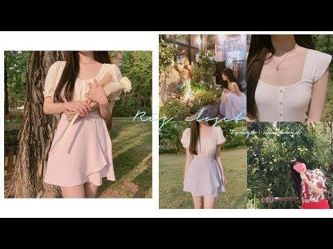 리즈클로젯 │ 도쿄마켓 오픈❣️ 여름옷 하울 │ 패션하울 │원피스 하울 │ 오프숄더 │여름옷 코디