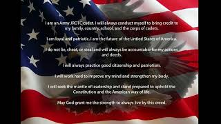 Army JROTC Creed