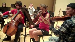 SRU Orchestra performs Erste Symphonie by Beethoven