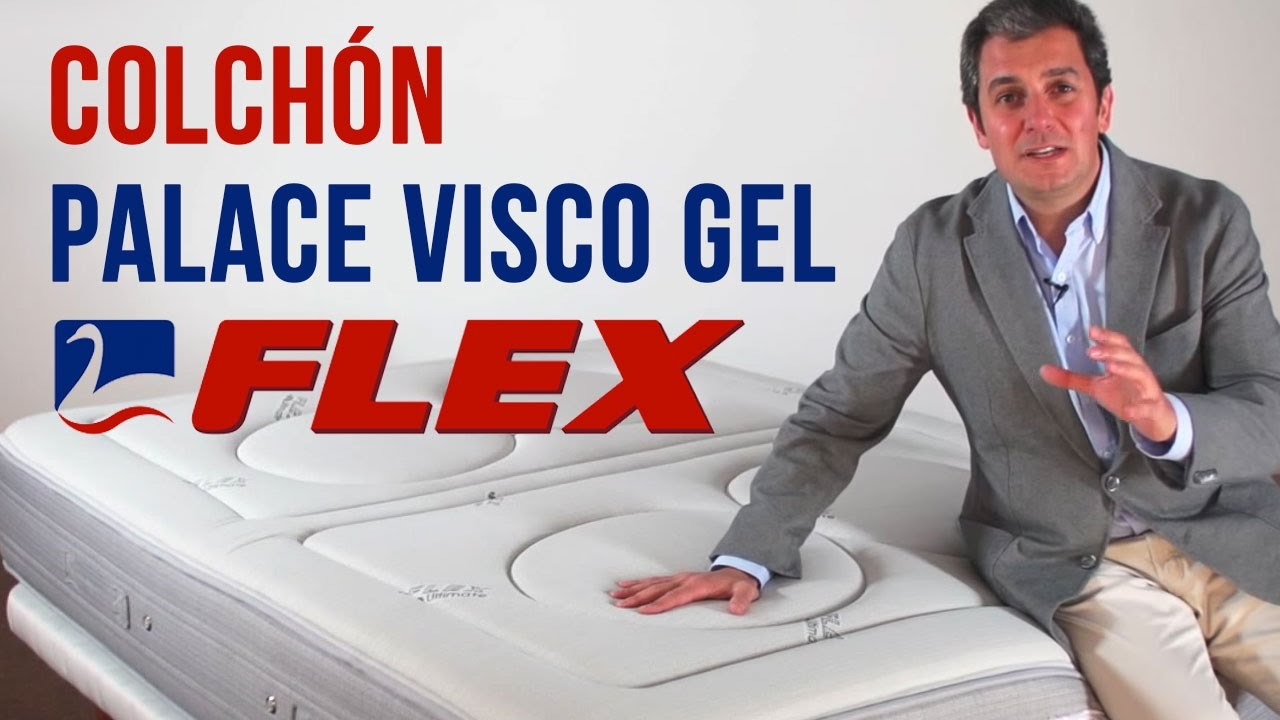 Colch n palace visco gel de flex for Colchon flex nube visco gel