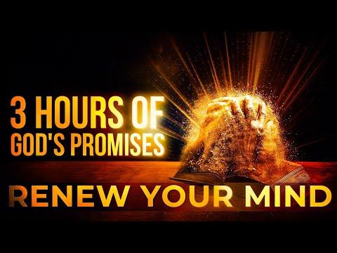 GOD'S PROMISES | FAITH | PEACE | STRENGTH IN JESUS | 3 HOURS