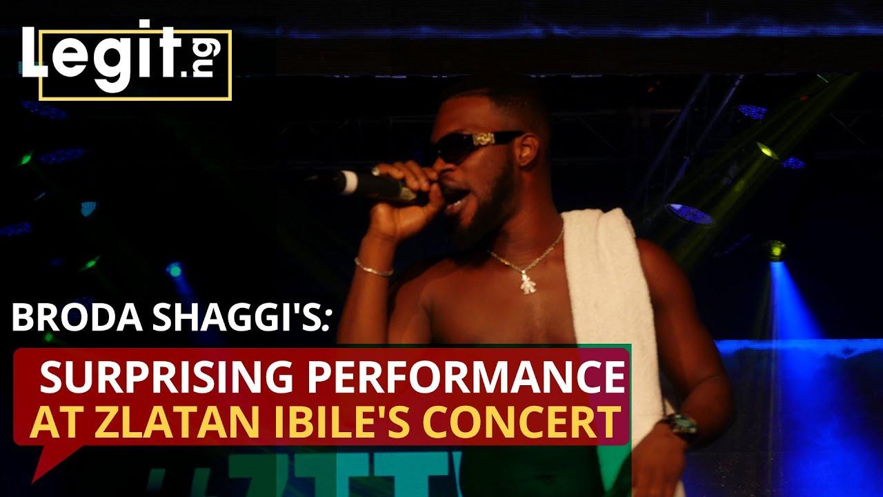 Broda Shaggi's surprising performance at Zlatan Ibile's concert   Legit TV