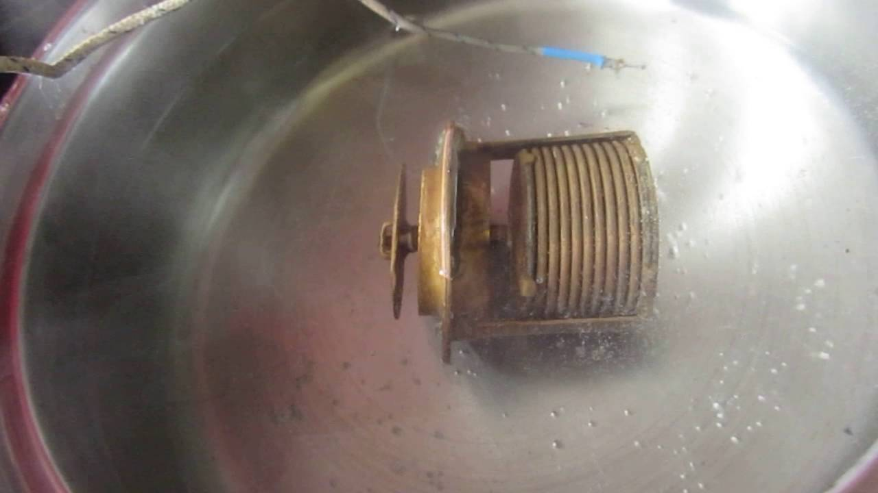 Testing An 82 Degc Smiths Bellows Thermostat For Triumph