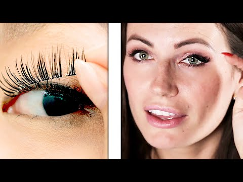 Download Youtube: We Tried Magnetic Lashes