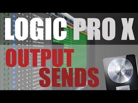 Logic Pro Pro Tips - OUTPUT SENDS