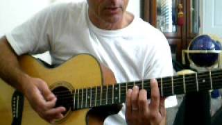 Jack Johnson Mud Football - Guitar Lesson