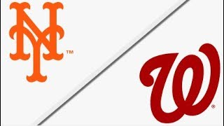 New York Mets vs Washington Nationals | Full Game Highlights | 4/5/18