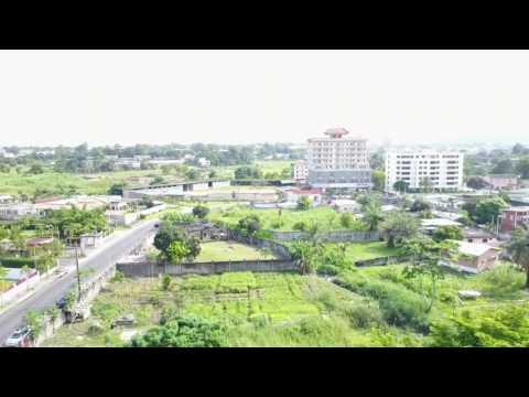 Libreville - Drone Mavic pro 4k footage