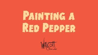 Painting a Red Pepper