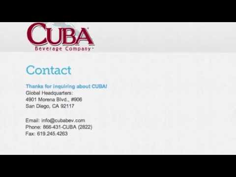 Cuba Beverage Company CEO Interview