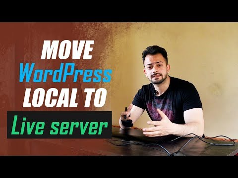 How to Move WordPress website from Local Server to Live Website - 동영상