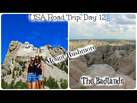 USA Road Trip: Day 12 [Mount Rushmore, Crazy Horse, The Badlands]