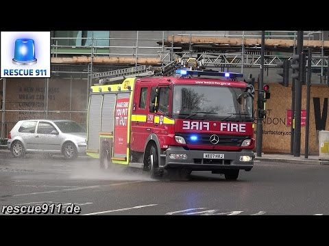 [London Fire Brigade] Pump ladder F331 LFB Whitechapel