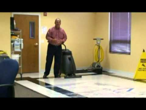 How To Strip Refinish Tile Floors Floor Stripping Youtube