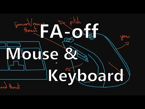 Elite Dangerous Flight Assist Off Mouse and Keyboard Tutorial