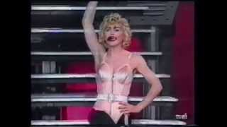 Madonna - Blond Ambition World Tour Live In Sweden (B-Roll Footage)